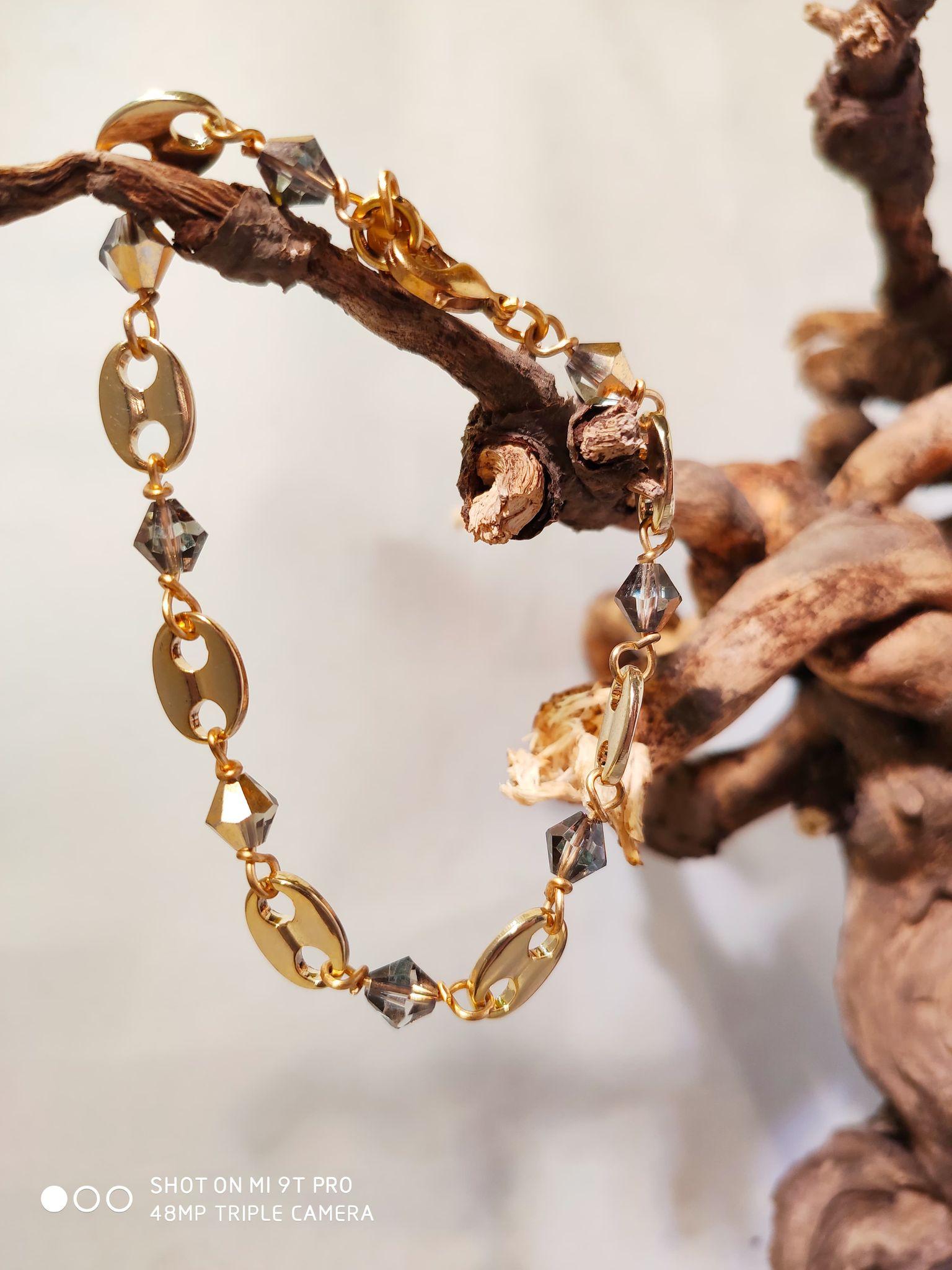 Bracelet «grains de café»