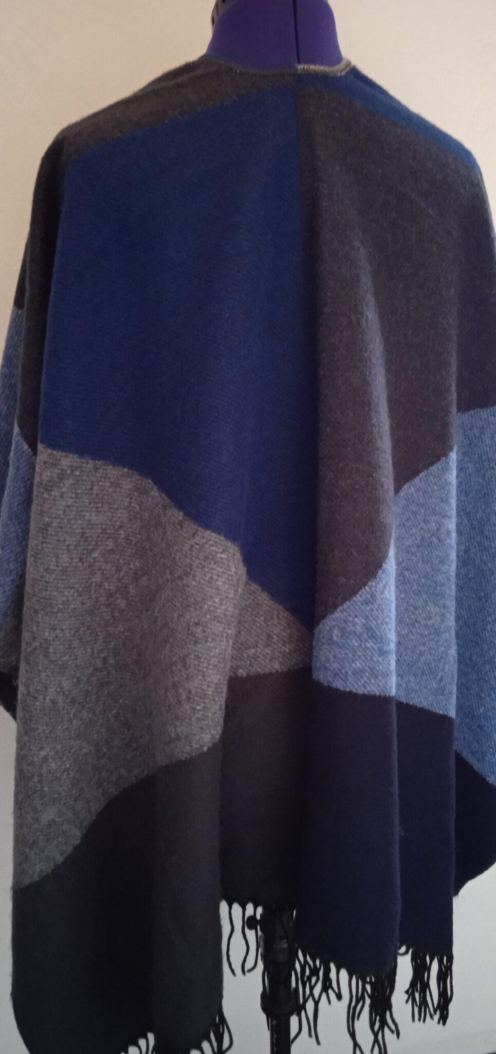 Poncho laine