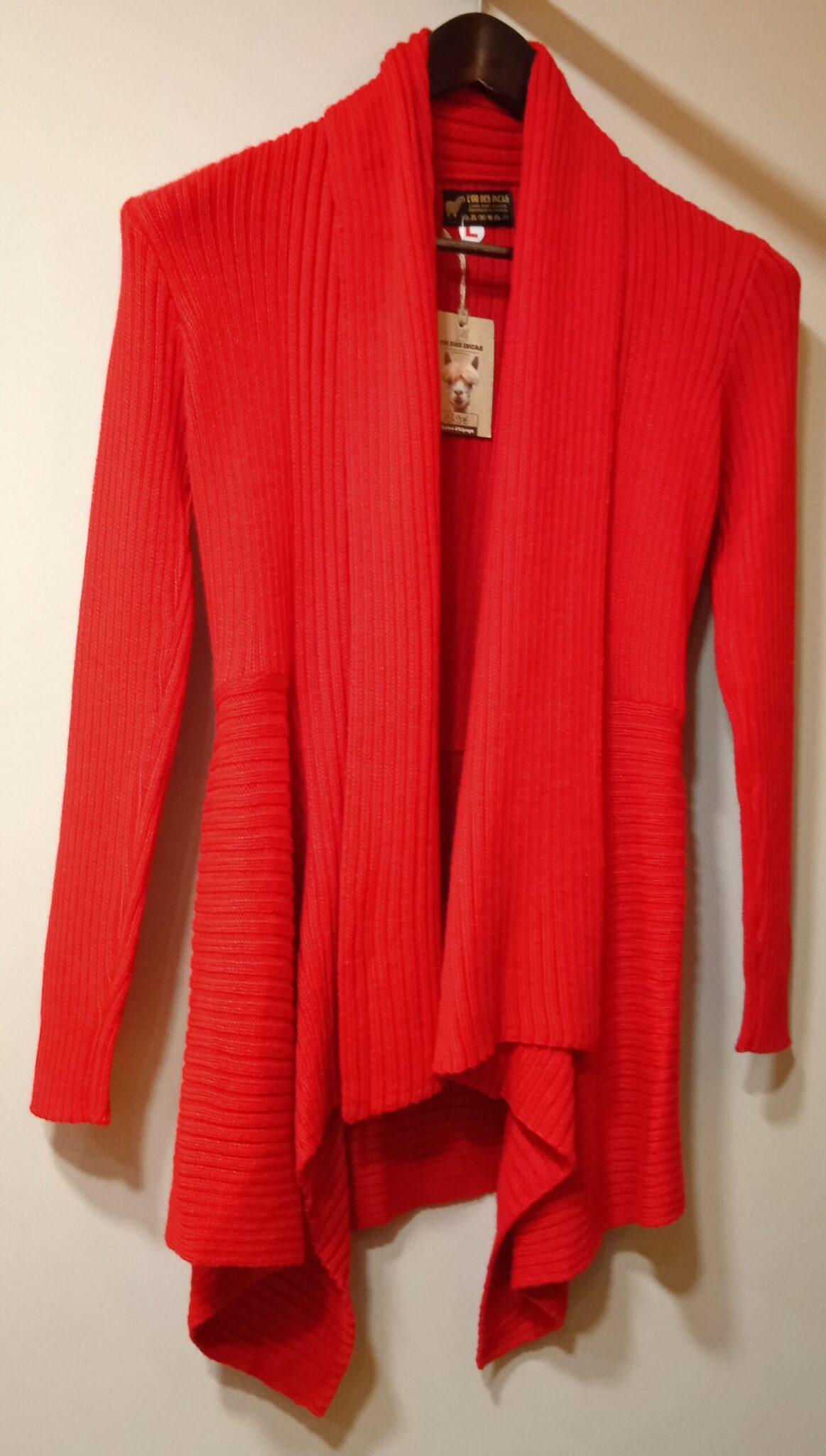 gilet tricoté uni