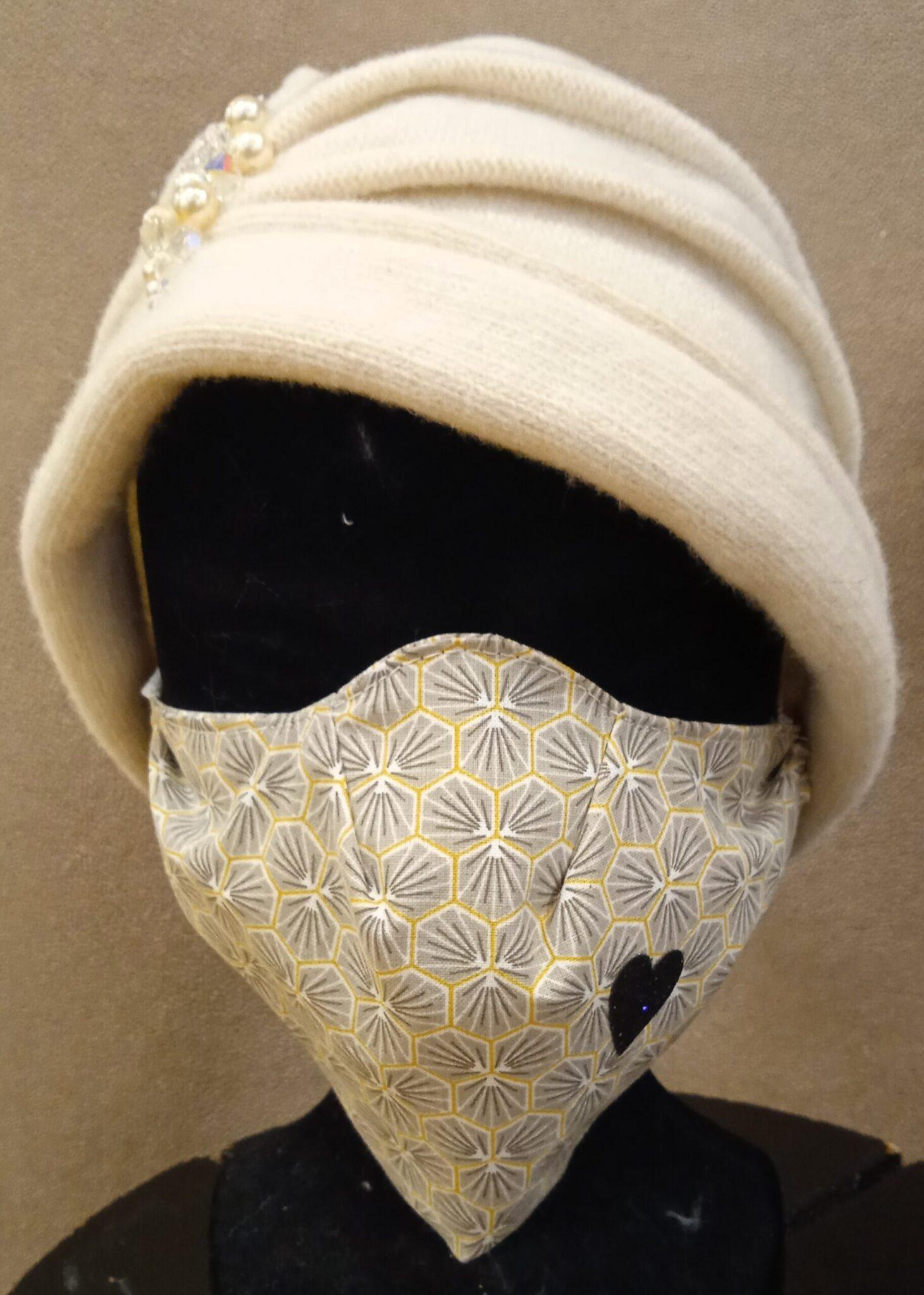 masque coque «classieux»